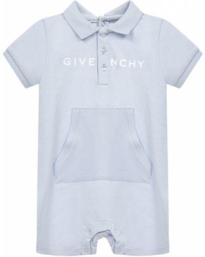 Niebieski body krótki rękaw Givenchy