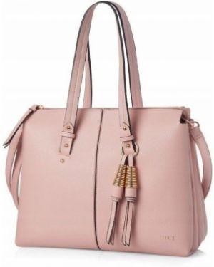 Różowa torebka skórzana elegancka Felice