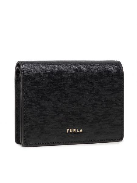 Czarny portfel Furla