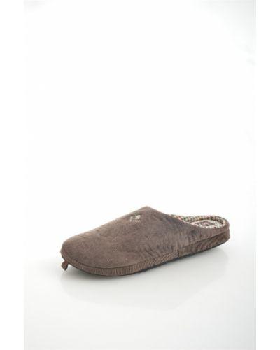 Резиновые тапочки - коричневые De Fonseca
