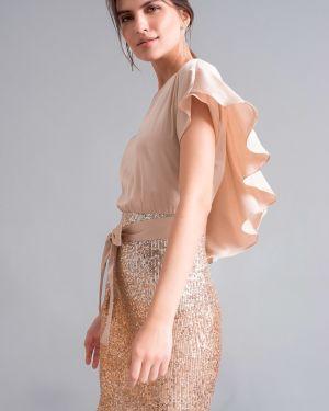Вечернее платье с пайетками платье-сарафан Emka