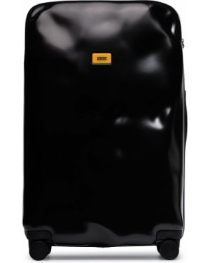 Чемодан из полиуретана - черный Crash Baggage