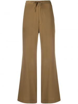 Свободные коричневые брюки свободного кроя SociÉtÉ Anonyme