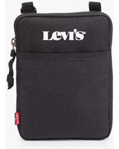 Сумка через плечо из полиэстера - черная Levi's®
