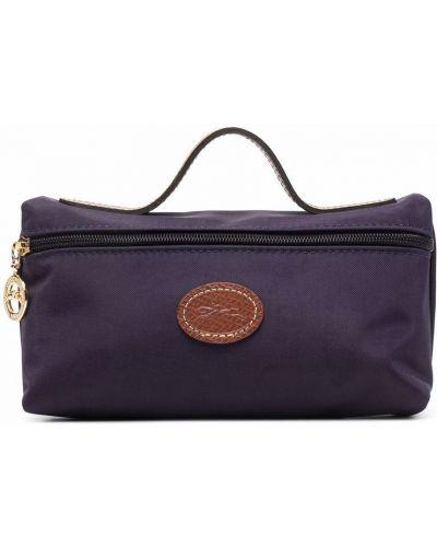 Клатч на молнии - синий Longchamp