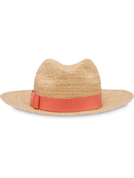 Czerwony kapelusz Prada