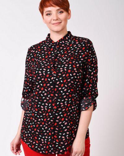 Блузка с принтом - черная Taifun