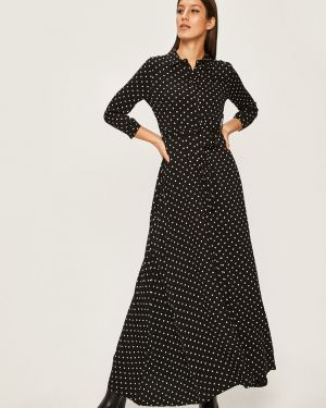 Повседневное платье в горошек из вискозы Answear