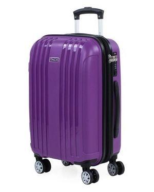 Fioletowa walizka Itaca