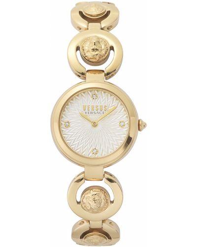 Złoty zegarek kwarcowy Versus Versace