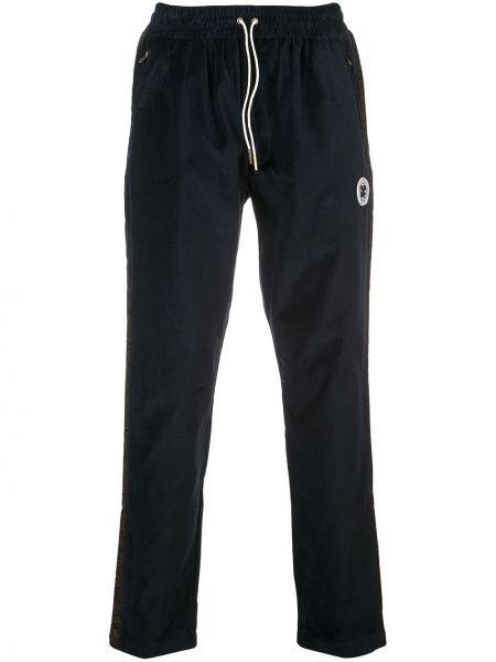 Niebieskie spodnie sztruksowe Aime Leon Dore