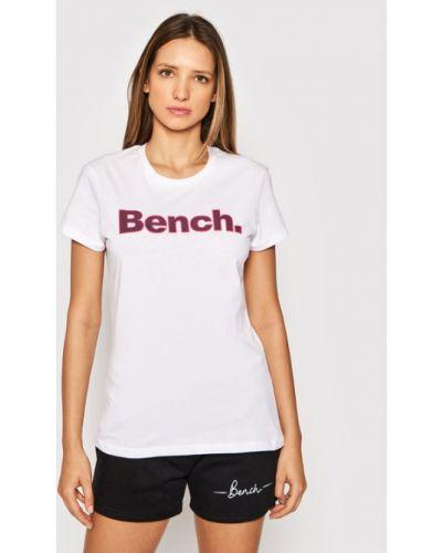 T-shirt - biała Bench