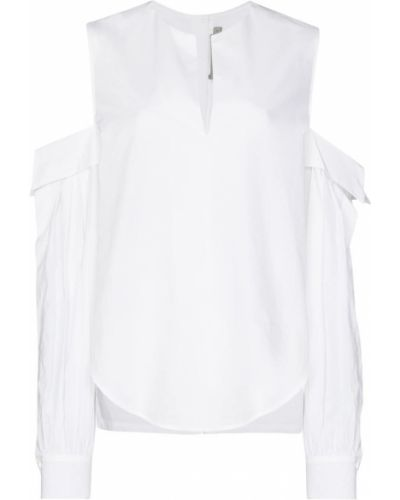 Хлопковая белая блузка Silvia Tcherassi