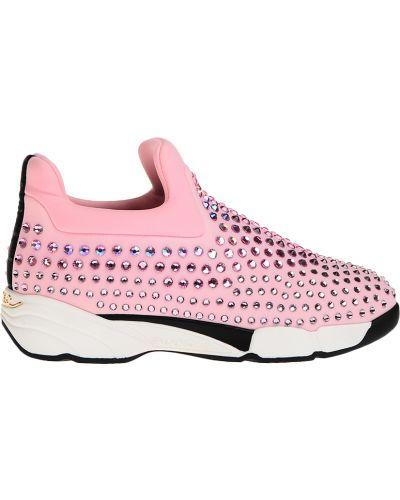 Кроссовки розовый Pinko