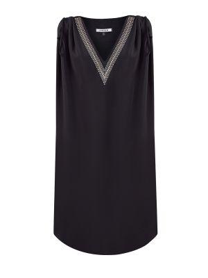 Шелковое платье - черная Fisico
