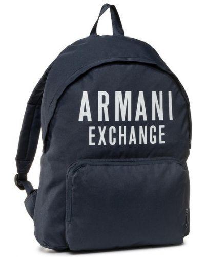 Plecak granatowy Armani Exchange