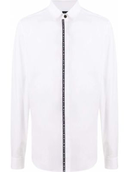 Koszula z długim rękawem klasyczna z logo Just Cavalli