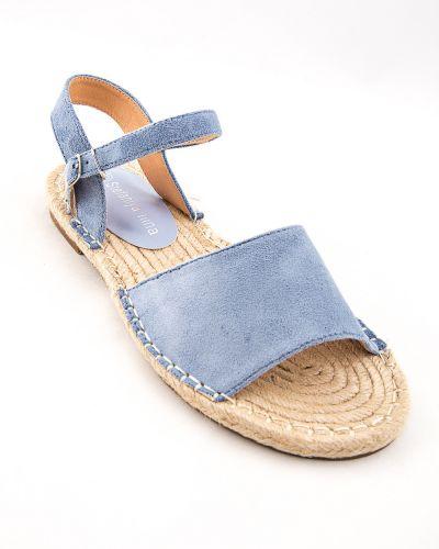 Текстильные синие туфли Stefaniya Nina