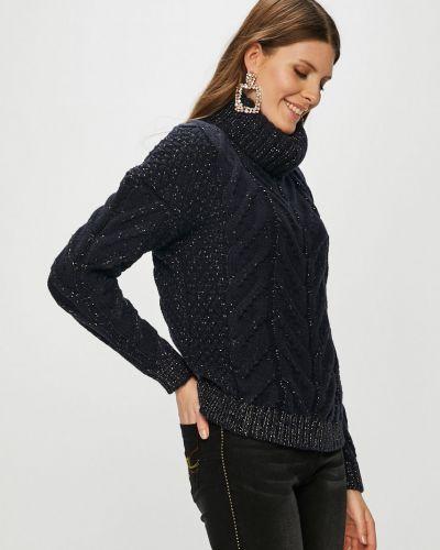 Вязаный свитер шерстяной с узором Morgan