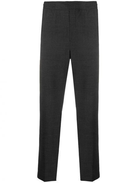 Spodnie na gumce o prostym kroju z kieszeniami Acne Studios