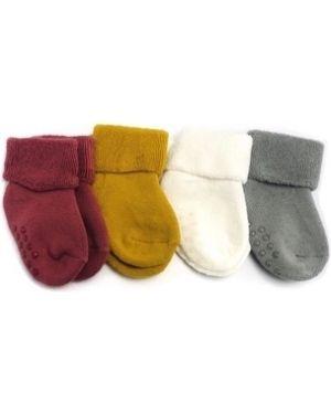 Теплые нейлоновые оранжевые носки Embrace