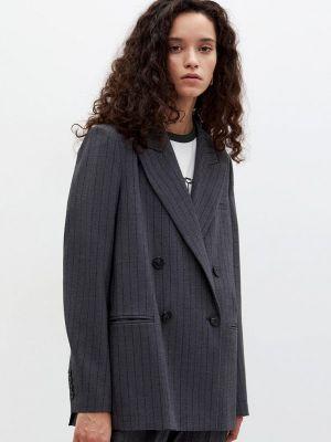 Серый зимний пиджак Lime