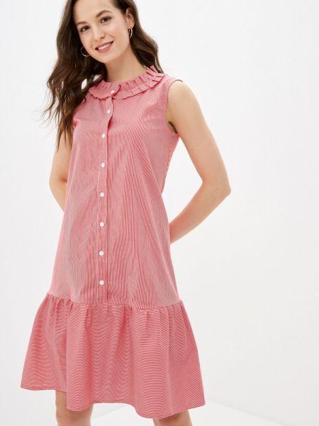 Платье прямое красный Gabriela
