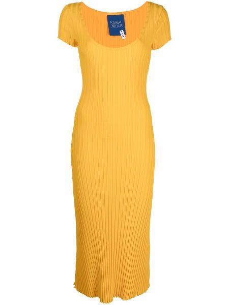 Sukienka mini - żółta Simon Miller