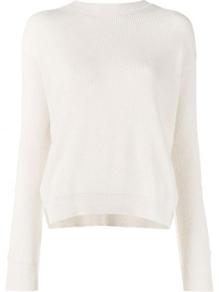 Jasnoróżowy bawełna bawełna sweter Helmut Lang