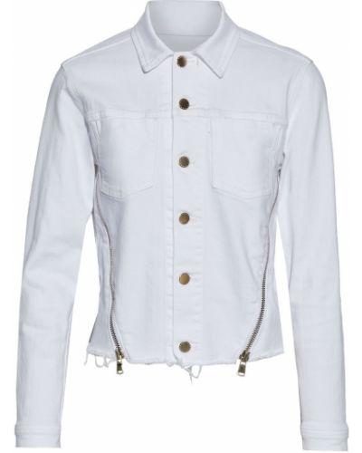 Хлопковая джинсовая куртка - белая L'agence