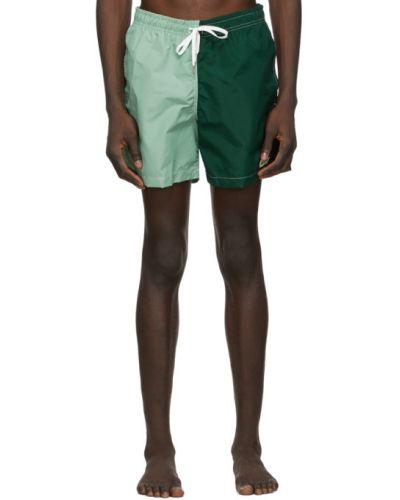 Нейлоновые белые шорты для плаванья с карманами Bather
