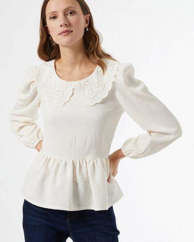 С рукавами белая блузка Dorothy Perkins
