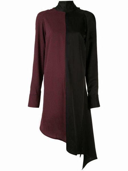 Шелковое платье макси - красное Strateas Carlucci