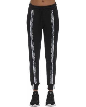 Спортивные брюки на резинке жаккардовые Adidas Originals