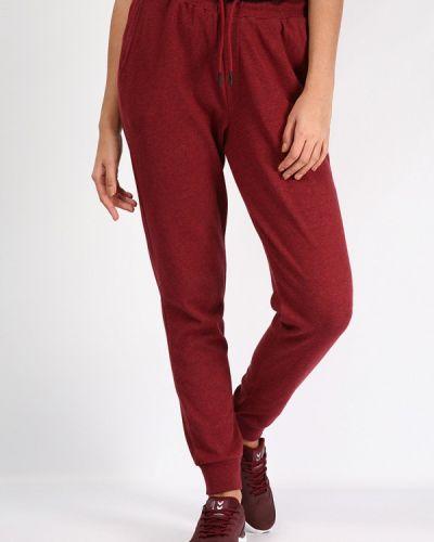 Спортивные брюки бордовый красный Hummel