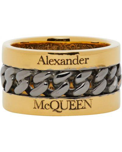 Цепь золотая Alexander Mcqueen