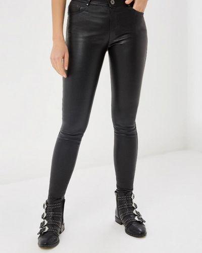 Черные брюки кожаные Oakwood