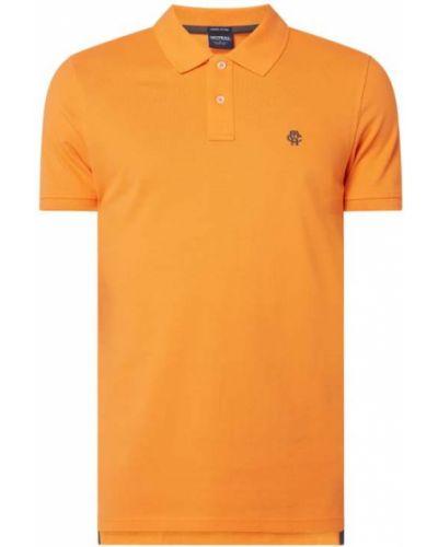 T-shirt bawełniana - pomarańczowa Mcneal