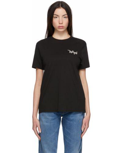 Белая футболка короткая 6397