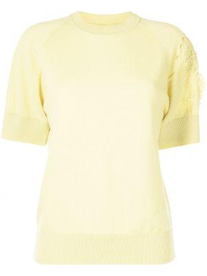 Żółta koszulka prążkowana Barrie
