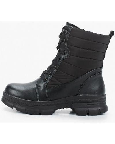Черные кожаные ботинки Lolli L Polli