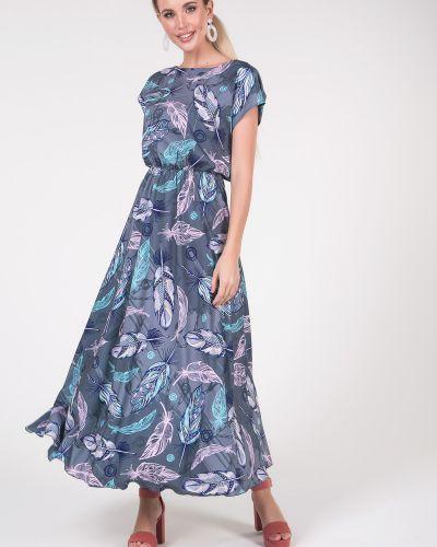 Приталенное повседневное с рукавами платье мини Valentina