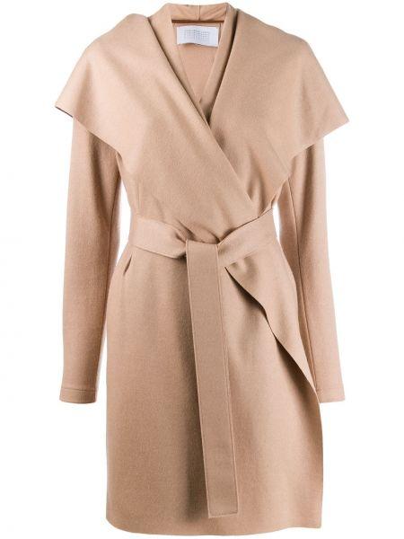 Płaszcz wełniany z kieszeniami Harris Wharf London
