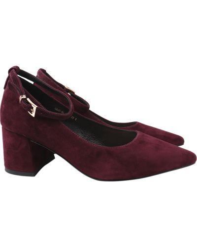 Туфли - бордовые Angelo Vani
