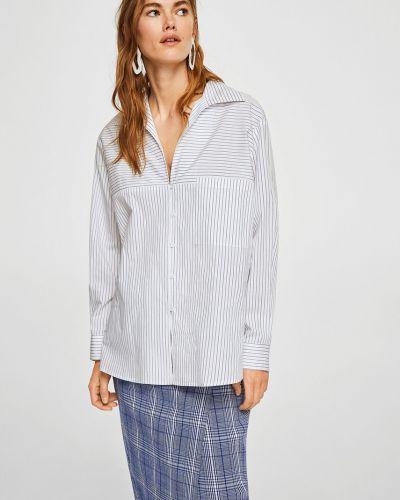 Блузка прямая с V-образным вырезом Mango
