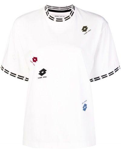 Хлопковая футболка - белая Damir Doma