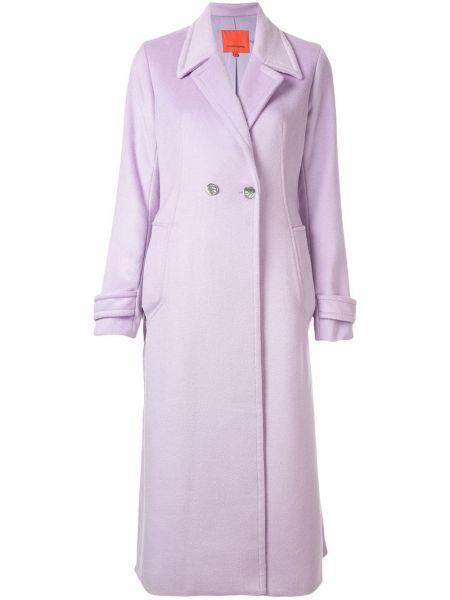 Шерстяное пальто классическое с капюшоном с воротником Manning Cartell