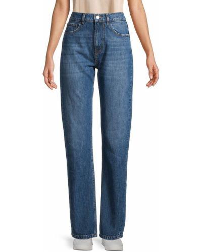 Синие хлопковые джинсы Iro