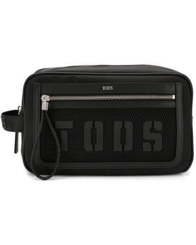 Несессер текстильный с логотипом Tods