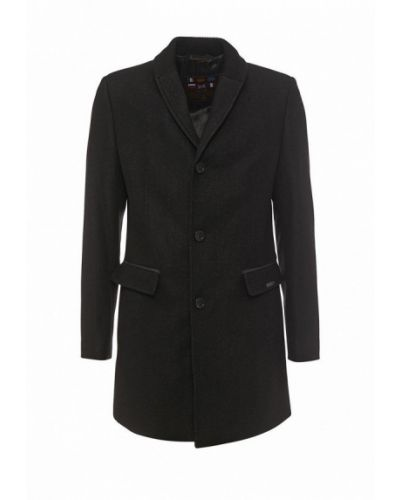 Черное пальто Bazioni